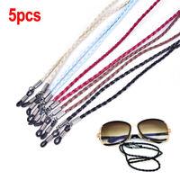 5pcs Women Girls Men Glasses Chain  Eyeglasses Holder Strap Cord  Fashion VvV