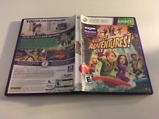 KINECT ADVENTURES MICROSOFT XBOX 360 EX+NM CONDITION COMPLETE!