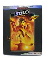 SOLO: A Star Wars Story BLU-RAY + DIGITAL + Slipcover BRAND NEW w/FREE SHIPPING!