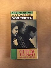 Sisters, Or The Balance Of Happiness Motion Picture VHS 1979 Drama Germany