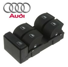 Audi A4 Quattro S4 2002-2005 Front Driver Left Door Window Switch-Black Genuine