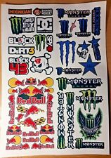 TAMIYA HPI LOSI VINTAGE MIXED CUSTOM PRECUT DECALS STICKERS 1/8/10/12th RC CARS