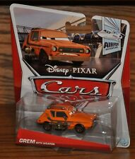 2013 Disney Pixar Cars Die Cast Airport Adventure Grem with Weapon #1 of 7 NEW