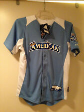 NWT 2012 American League All Star Cool Base Jersey YOUTH Size: L