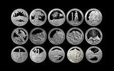 2011 + 2012 + 2013 S America the Beautiful National Parks Silver Mint Proof Set
