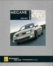 Renault Megane RenaultSport 225 Trophy Limited Edition 2005 UK Market Brochure