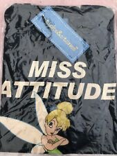 Ladies Tinker Belle Miss Attitude T-Shirts 100% Cotton Various Sizes Tight Fit