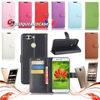 Etui coque housse XCOLORS PU Leather case cover Huawei P Smart /+ ,Y5 ou Y6 2018