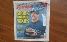Baseball Weekly - Dec. 13, 2000 - Alex Rodriguez & Texas Rangers