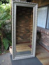 X-Large Full Length Wall Mirror Ornate Silver Wood Frame 2Mx88cm FREE SYDNEY DEL