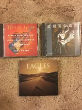 Lot Of 3 CDs - Eagles, Metal Heat, & Kansas