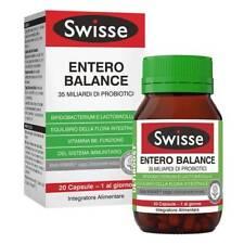 SWISSE ENTERO BALANCE 35 MILIARDI DI PROBIOTICI 20 Capsule