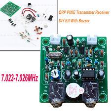 1pc HAM RADIO 7.023-7.026MHz QRP PIXIE Transmitter Receiver DIY Kit  With Buzzer