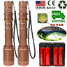 Tactical Police 900000 Lumens T6 LED 5Modes 18650 Flashlight Aluminum Zoom Torch