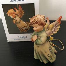"Hummel Goebel Ornament #484 Peace On Earth TMK6 4 1/2"" Tall  W. Germany"