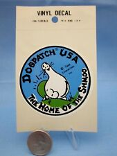 """DOGPATCH USA THEME PARK""  ~ SHMOO ~ SOUVENIR STICKER / DECAL - LI'L ABNER L@@k"