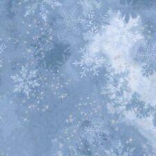 Kaufman/McKenna Ryan Sugar Plum Fabric AYCM-15904-61 PERIWINKLE w/Silver Met BTY