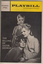"""Claire Trevor  Playbill   """"The Killing Of Sister George""""  1968   Washington DC"""