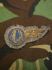 Vintage Airline Bullion Wire Badge