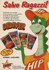 X2802 Denver - Videocassette Stardust - Pubblicità 1990 - Advertising