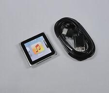 Apple iPod Nano 8GB 6th Gen Generation Silver GUARANTEE