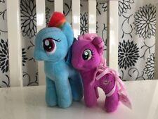 My Little Pony Soft Plush Toys ~ Rainbow Dash & Twilight Sparkle