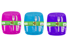 Lunch Box Food Fruit Sandwich Salad Storage Container With Cutlery Set