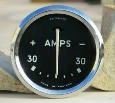 Smiths Lucas Amps Gauge Amperometro Triumph MGA Aston Martin Sunbeam