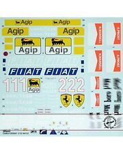 1/12 FERRARI 641/2 FULL SPONSOR DECAL for TAMIYA PROST MANSELL