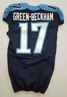 #17 Dorial Green-Beckham of Tennessee Titans NFL Locker Room Game Issued Jersey