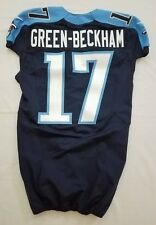 #17 Dorial Green-Beckham Authentic Nike Tennessee Titans Game Issued Jersey