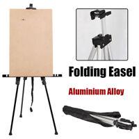Portable Aluminium Artist Tripod Studio Painting Easel Display Canvas Stand Bag