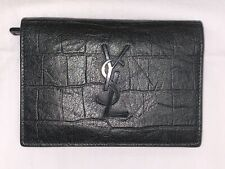 5ff2cc44d67 Authentic YSL Logo Monogram Wallet - Saint Laurent