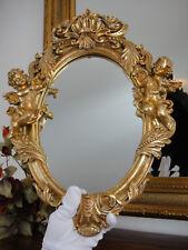 Wandspiegel Engel Antik Barock Rokoko Jugendstil Gold Edel Putten Prunk Spiegel