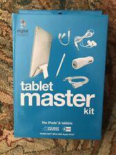 Digital Basics Tablet Master Kit Stand Splitter Stylus Earbuds Car Charger