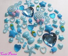 Baby Blues lolly cuore Mix Fiocchi in Resina PEARL SWEET Scarpa Star GEM FLAT-Back Craft