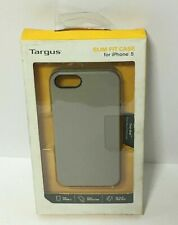TARGUS GRAY SLIM FIT CASE FOR IPHONE 5 TRUE GRIP, FREE SHIPPING