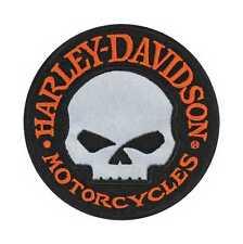 "Harley-Davidson  ""WILLI G Skull Reflektiv"" Aufnäher, Patch, Emblem *EM1029642*"