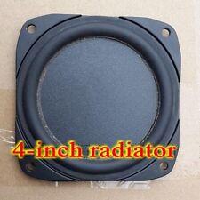 """2pcs 4"""" inch Bass radiator Cast aluminum frame Passive speaker"""
