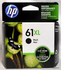 HP 61XL BLACK Ink Cartridge - CH563WN - Sealed Box ~OEM Genuine 61 XL~ 2019 Exp