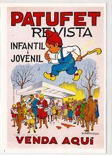 Reproducción antigua publicidad REVISTA INFANTIL I JOVENIL PATUFET