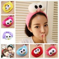 Cute Women Girl Elastic Headband Hairband Hair Band Hoop Makeup Face Headwear AU