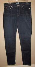 Hudson Collete Midrise Skinny Jeans Dark Wash 31 EUC