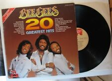 """BEE GEES """"20 GREATEST HITS"""" VINYL LP (POLYDOR RSO 2479 208; AUT-1978)  VG++"""