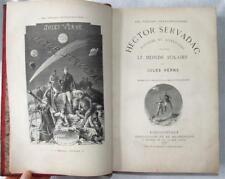 Jules Verne, Hector Servadac, 1877, Hetzel, Illustrated, Comet