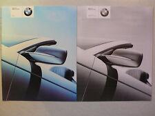 Prospekt BMW 3er Cabrio (323Ci) zur Premiere, 1.2000, 28 Seiten + Preisliste