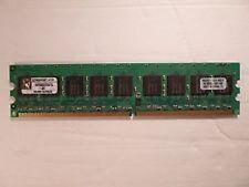 Kingston DDR2 KVR800D2E5/2G  PC6400 800MHz CL5 ECC usata