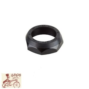 "ORIGIN8 THREADED 1-1/8"" BLACK BICYCLE HEADSET LOCK NUT--BAG OF 10"