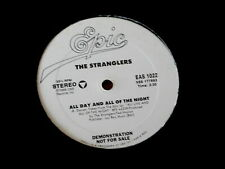 "STRANGLERS~ ALL DAY AND ALL OF THE NIGHT~ KINKS~NEAR MINT~ PROMO ~ 12"" SINGLE"