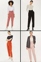 TOPSHOP® $68 Belted Trousers PINK, BLACK, RUST #36D01PPNK US0-US14